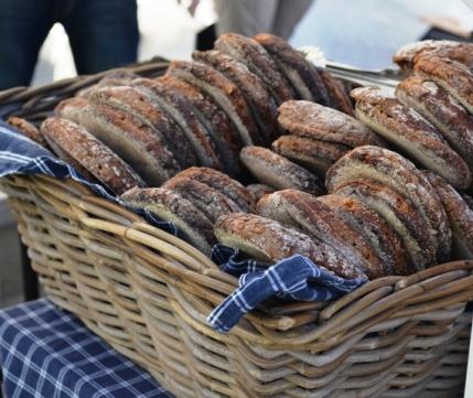 Union Square Greenmarket Finnish Ruis Bread Rounds