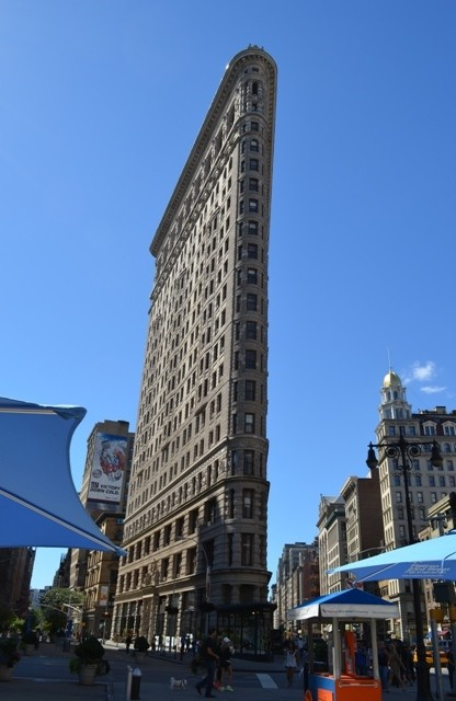 Flatiron Building Side