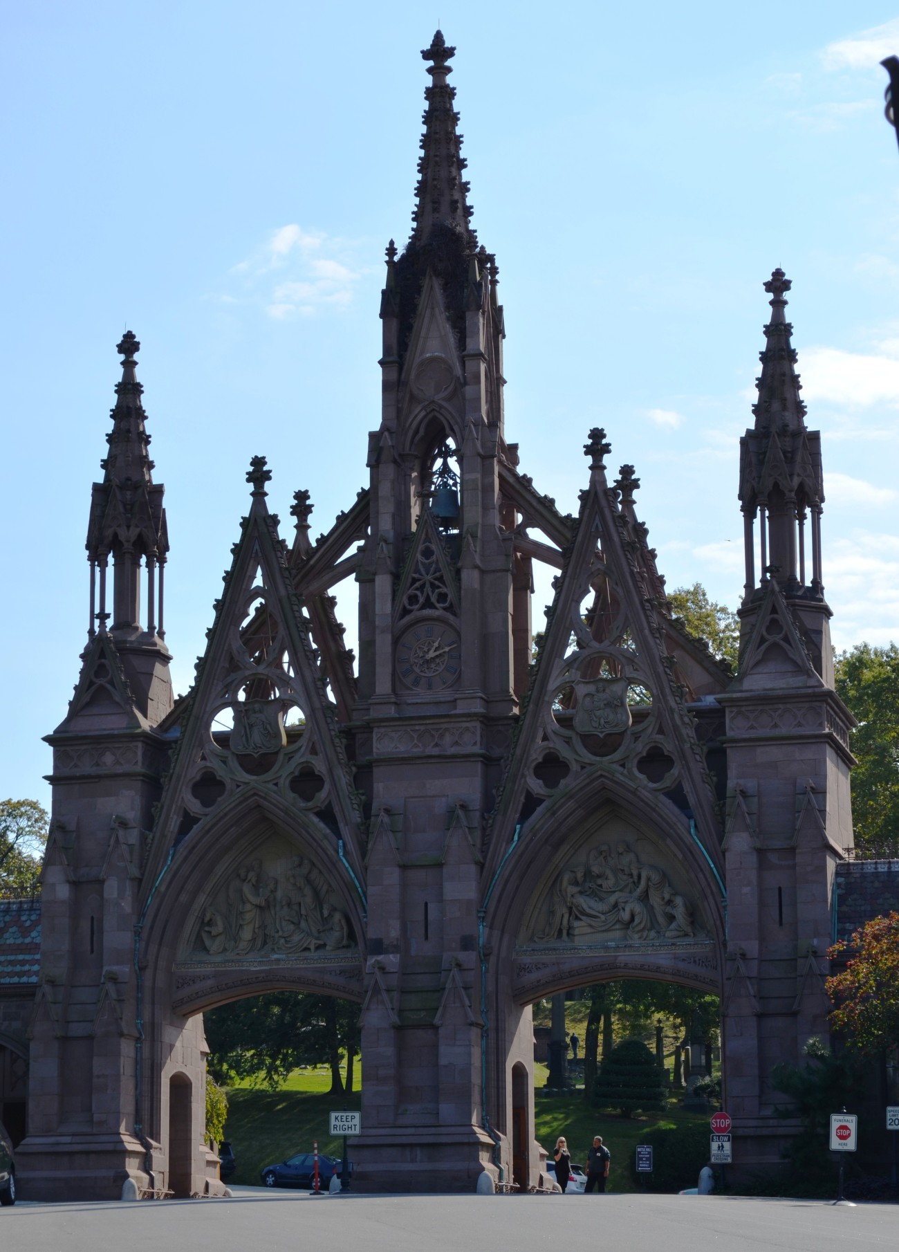 Entrance Gate at Green-Wood Cemetery