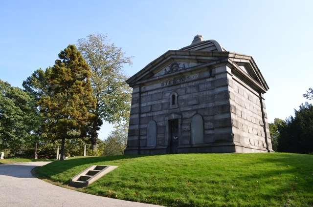Steinway Mausoleum at Green Wood Cemetery