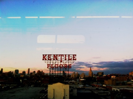 Kentile Floors Sign in New York City