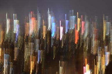 Painted Midtown Lights