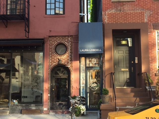 Laura Lobdell Narrow Store in New York City