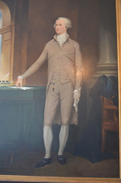 Portrait of Alexander Hamilton