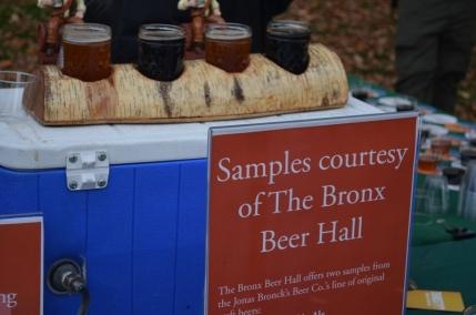 The Bronx Beer Hall Tasting
