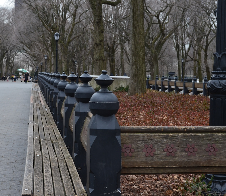 Benches in Central Park