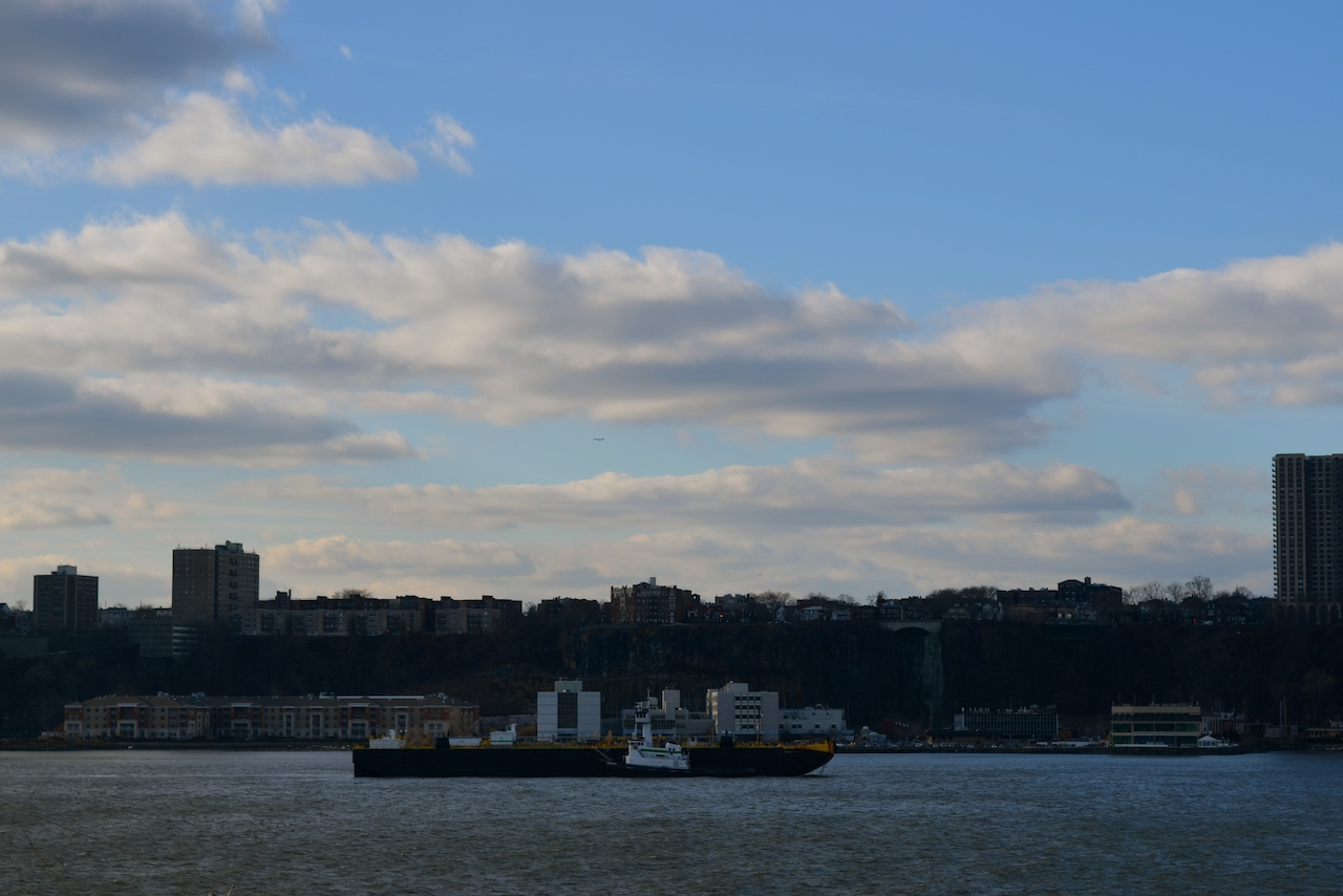 Windy Hudson River