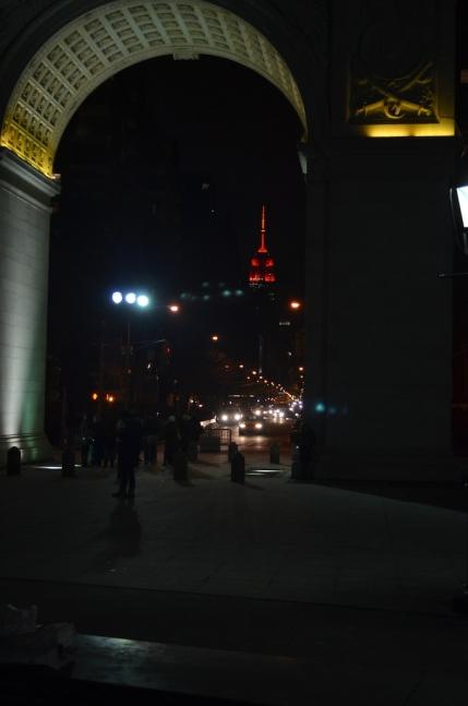 Empire State Building Super Bowl Bronco Colors