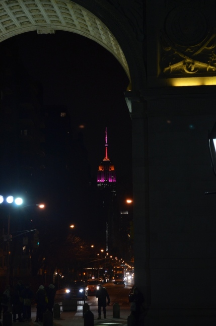 Empire State Building Super Bowl Colors