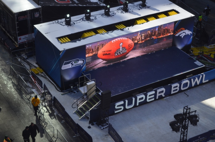 Super Bowl Stage