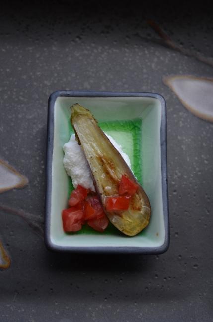 Fairy Tale Eggplant Appetizer