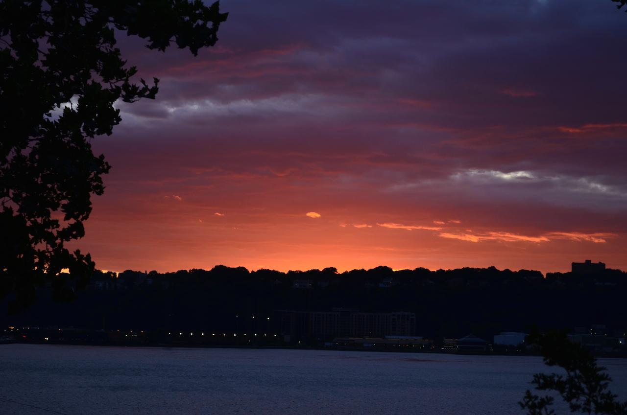 Spectacular Hudson River Sunset