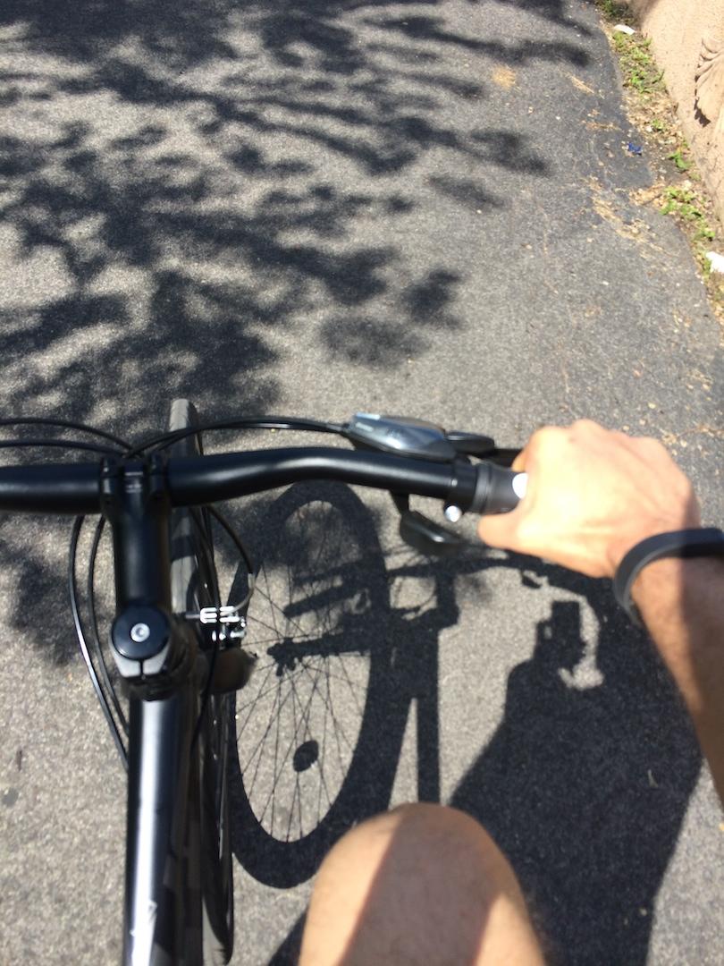 Bike Riding In Manhattan