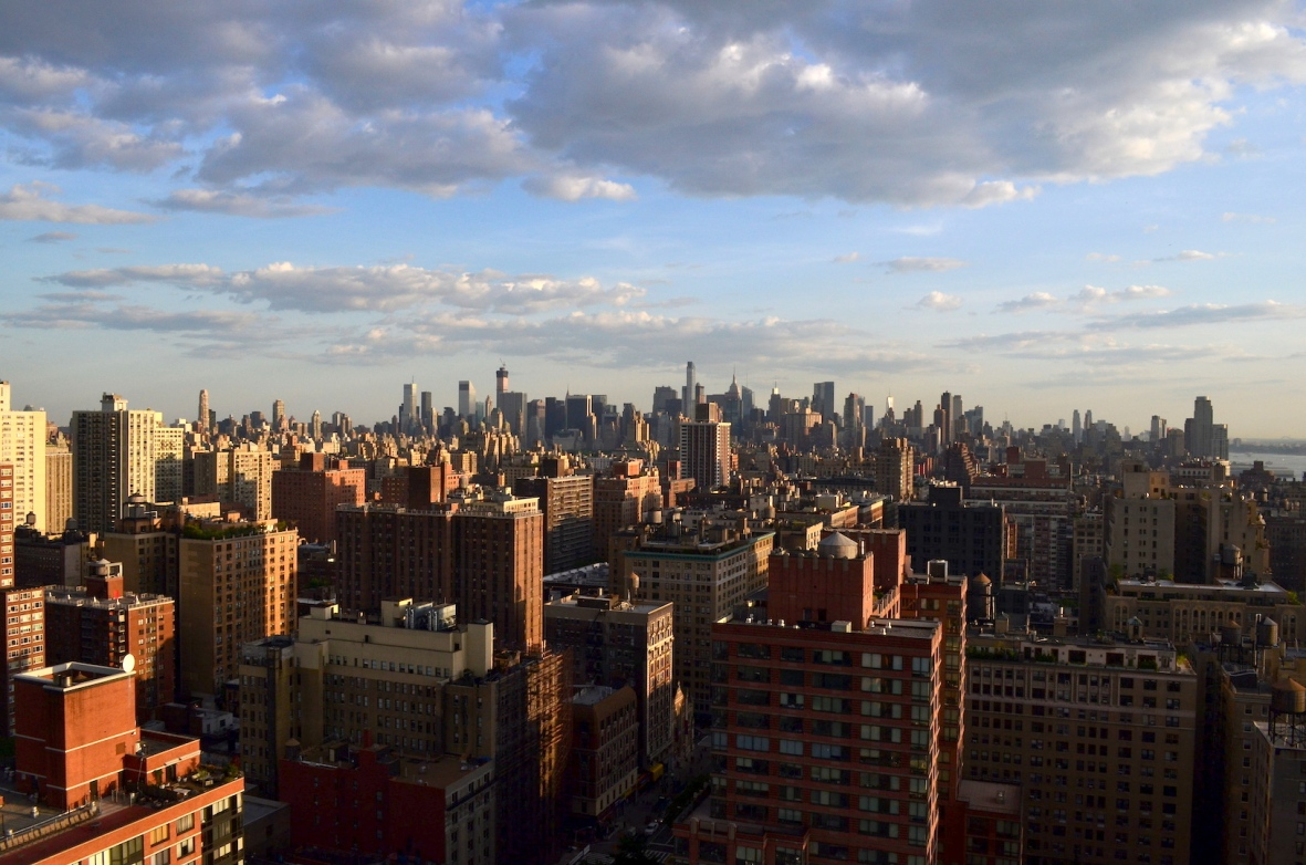 Manhattan from the Upper West Side