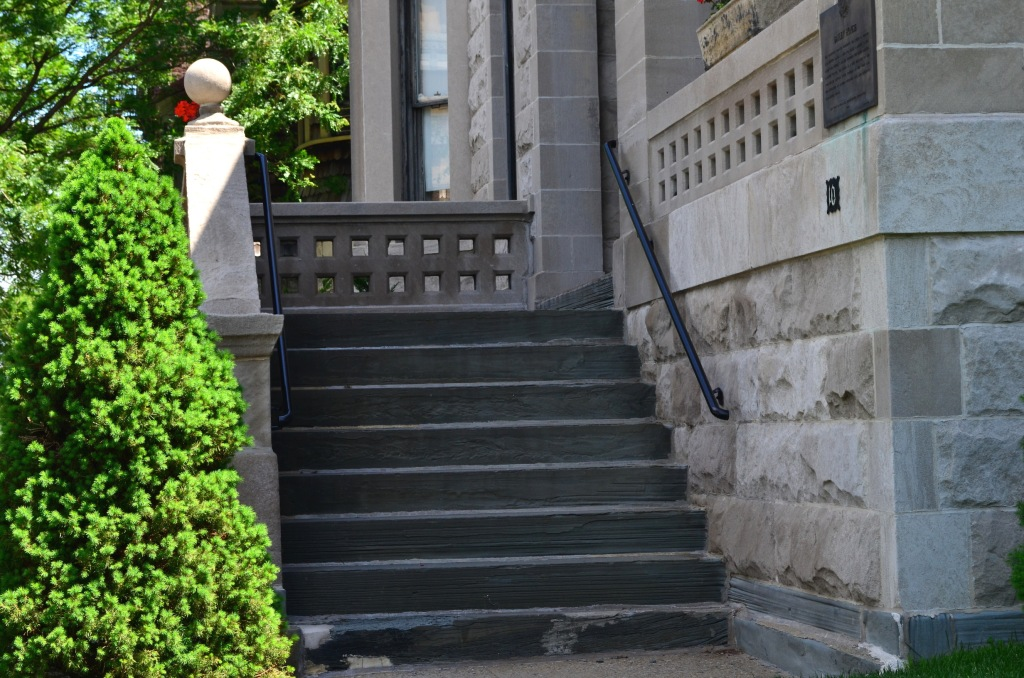 Bailey House Steps