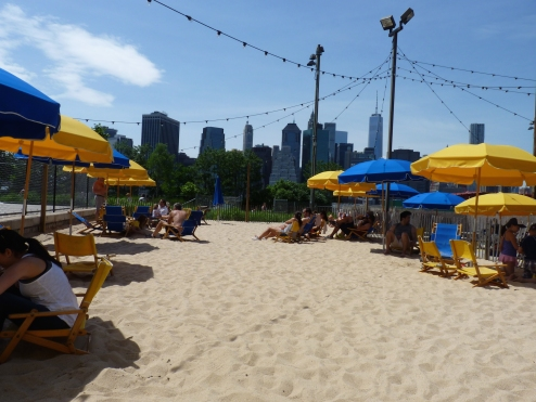Brooklyn Bridge Park Beach