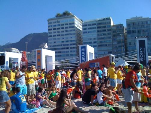 Fans in Rio