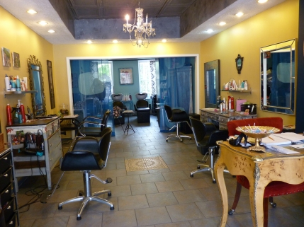 Inside Le Petit Chandelier Hair Salon In Gowanus Brooklyn