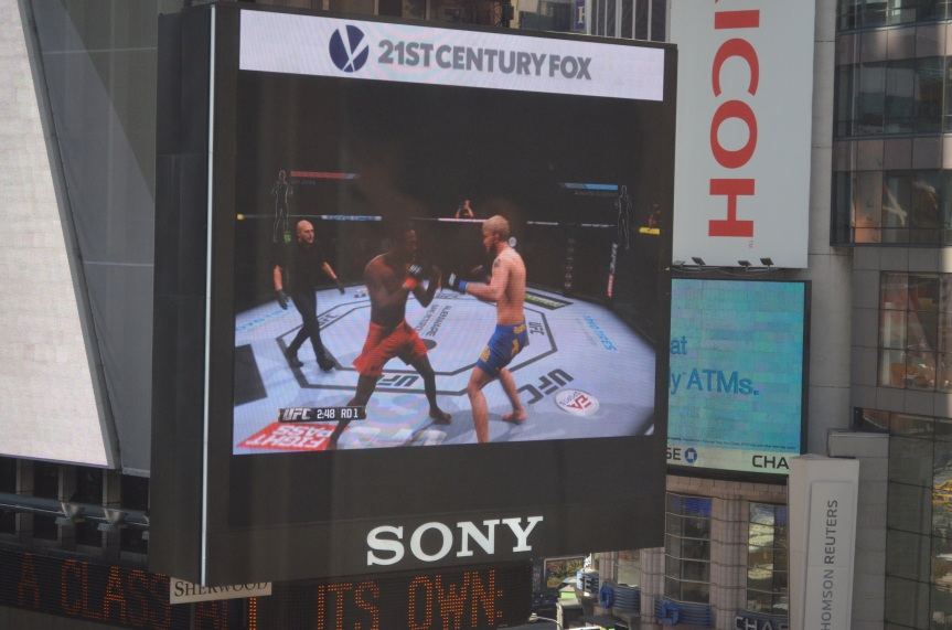 Jon Jones and Carlos Condite UFC Video Game