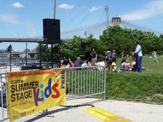 Kids Stage Brooklyn Bridge Park