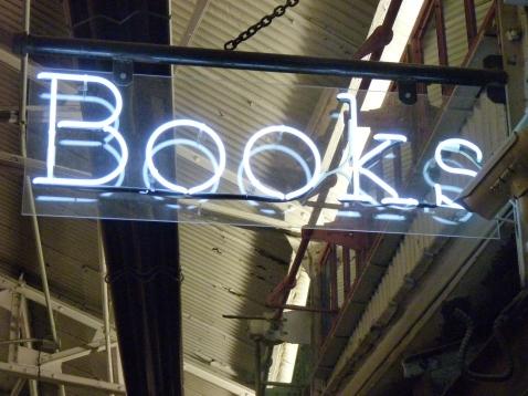 Posman Books Sign