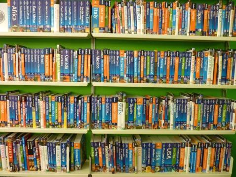 Posman Books Travel Section