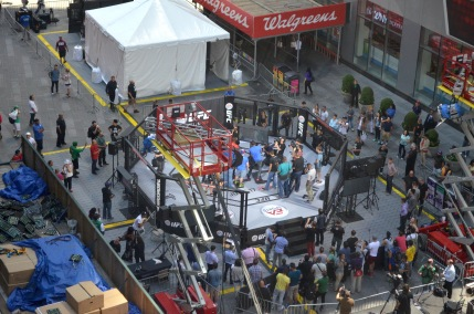 UFC and EA Sports in Times Square