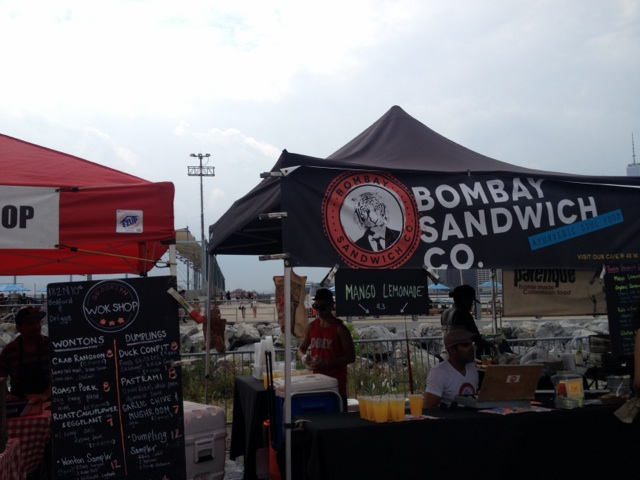 Bombay Sandwich Co. at Smorgasburg