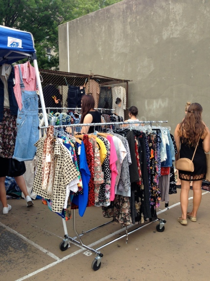 General View 6 Summer Vintage Clothing At The Brooklyn Flea Market