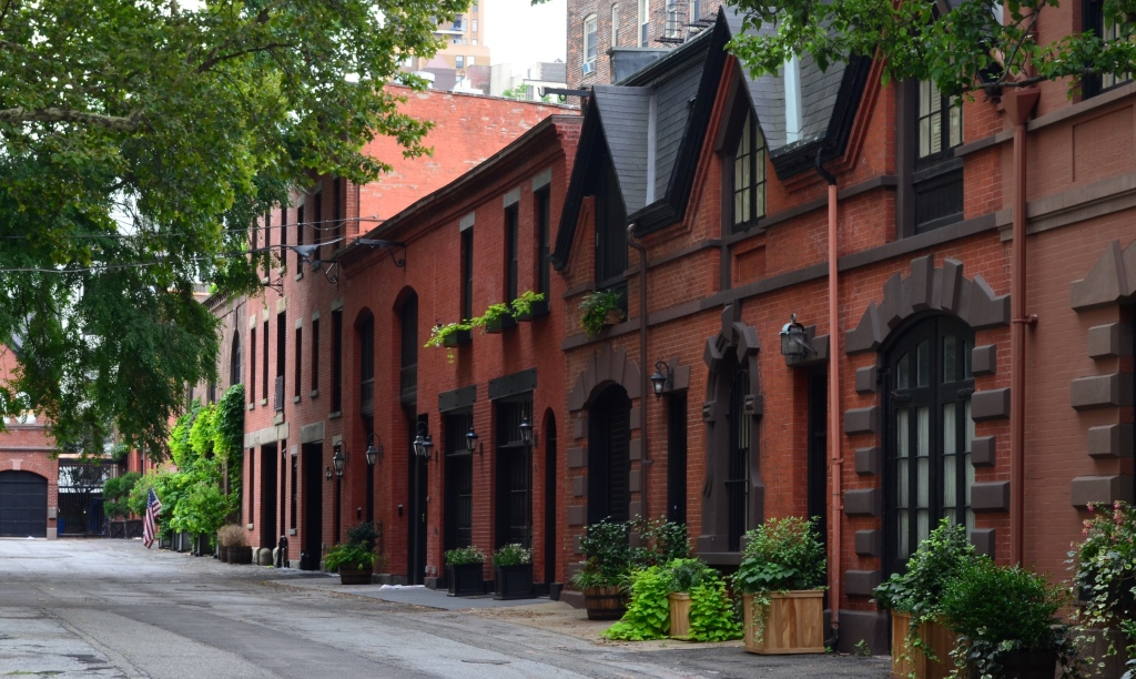 Row Houses In Brooklyn Heights