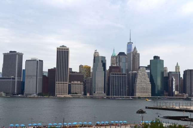 View of Downtown Manhattan from Brooklyn Heights