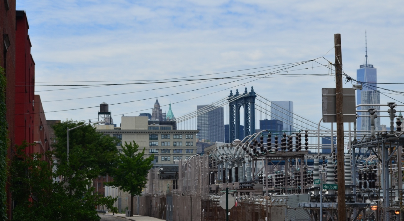 View Of Manhattan Bridge From Vinegar Hill