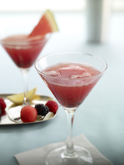 Watermelon Blackberry Martini