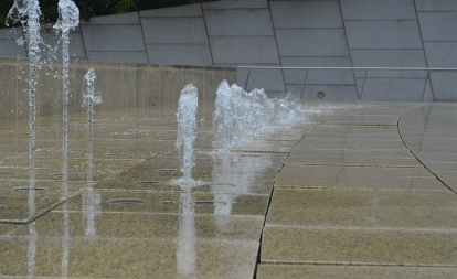 Brooklyn Museum Water Fountain