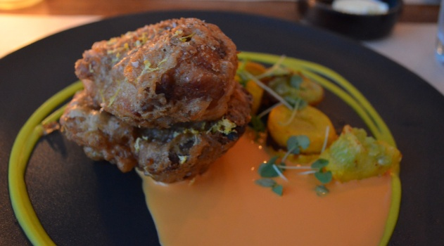 Fried Chicken with Scotch Bonnet Sauce