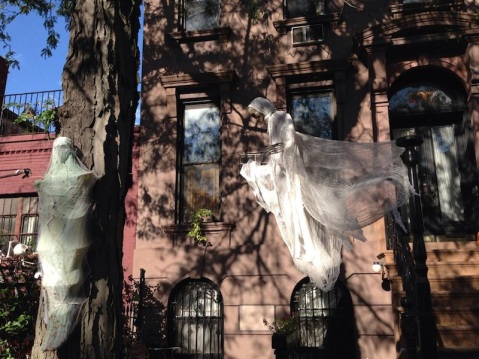 A ghost in Brooklyn
