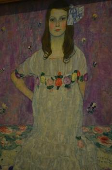 Gustav Klimt at the Met
