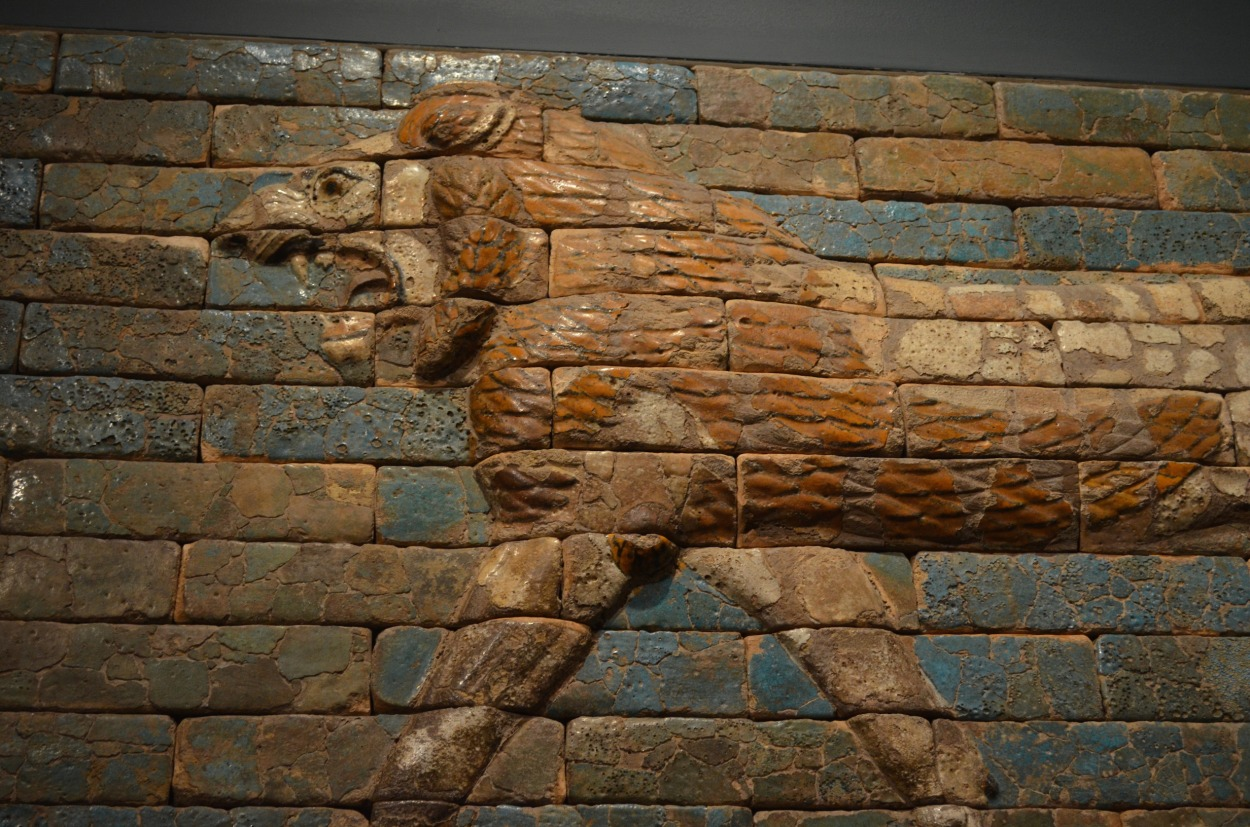Lion at the Met
