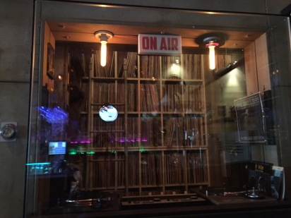 Mad for Chicken DJ booth