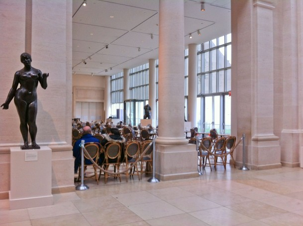 Petrie Restaurant in the Metropolitan Museum of Art