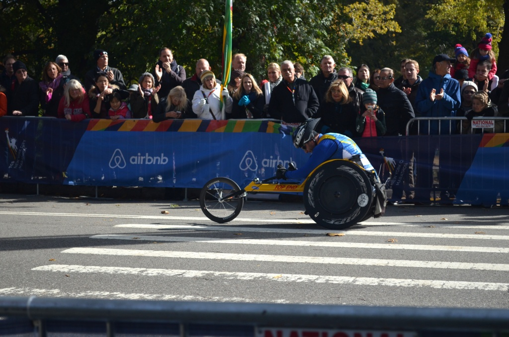 Elite Competitor in the New York City Marathon