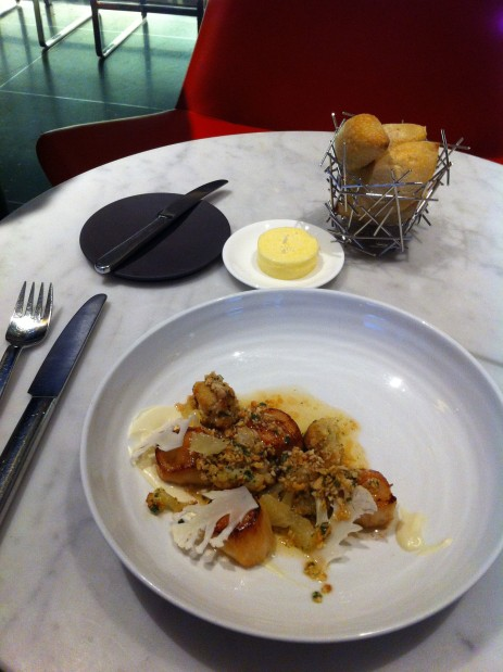 MoMA The Modern scallops