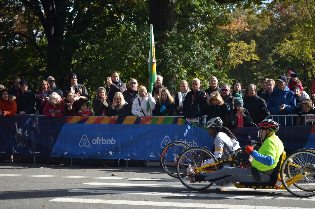 New York City Marathon Wheeled Athletes