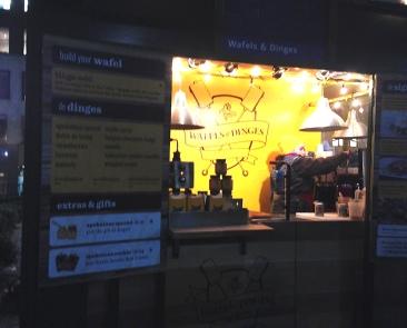 Belgium Waffle Vendor at Bryant Park