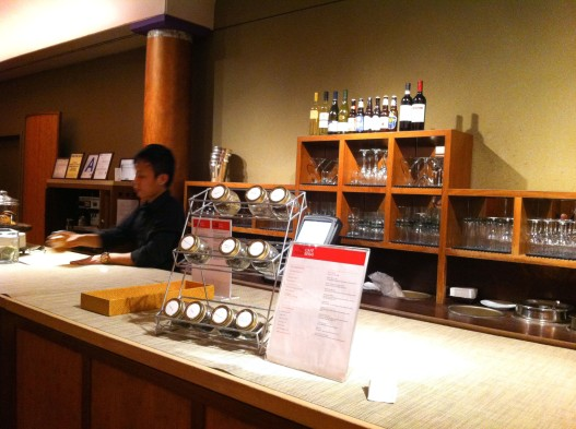 Rubin Museum Cafe Serai counter