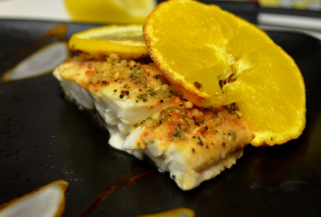 Citrus Baked Striper – Full Access NYC