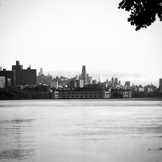 Hudson River with Manhattan in the Background