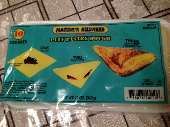 Mazor's Squares Puff Pastry Dough