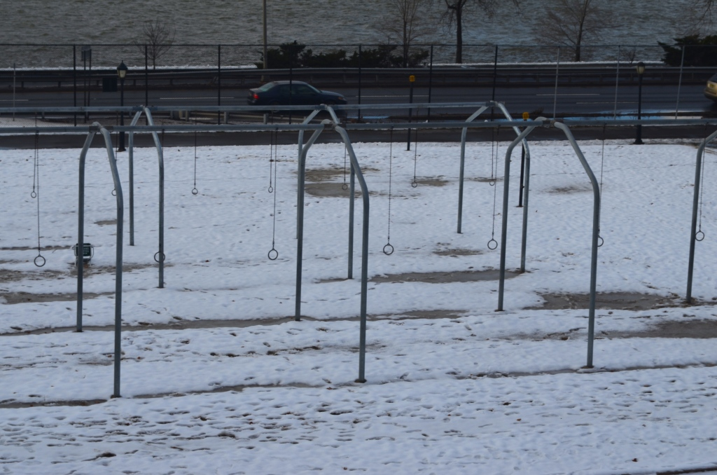 Gymnastic Rings in Riverside Park