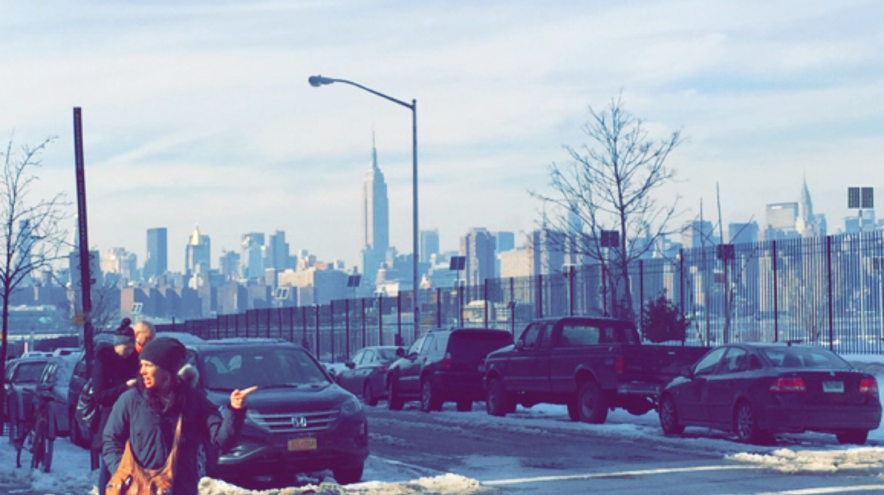 Empire State Building View from Brooklyn